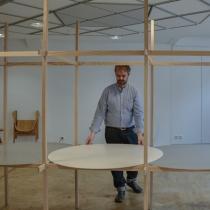 Ausstellungsaufbau . Martin Bereuter