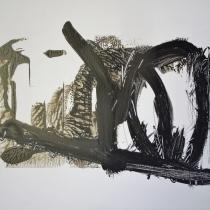 Christel Brill . O.T . 2002 . Acryl auf Leinwand . 40 x 50 cm