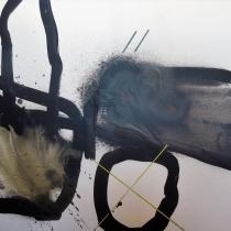 Christel Brill . O.T . 2006 . Acryl auf Leinwand . 80 x 100 cm