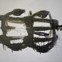 Christel Brill . O.T.2 . 2002 . Acryl auf Leinwand . 40 x 50 cm