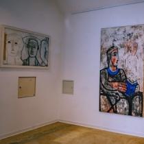 Ausstellung . KUNST FREUND SCHAFFT . 2019  . Harald Frehen