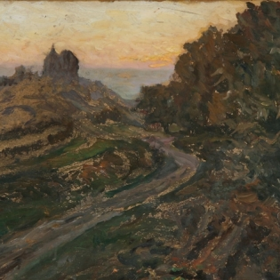 Alfred Ullmann: Die Schwalenburg, 1915