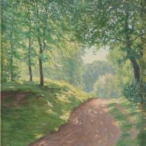 Kämmerer-Rohrig: Waldeingang bei Schieder, 1923